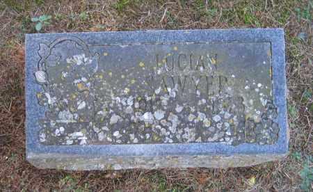 SAWYER, LUCIAN D. - Lawrence County, Arkansas | LUCIAN D. SAWYER - Arkansas Gravestone Photos