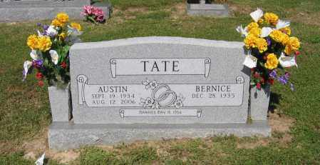 TATE, CECIL AUSTIN - Lawrence County, Arkansas | CECIL AUSTIN TATE - Arkansas Gravestone Photos