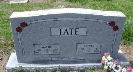 TATE, ESTHER FRANCES - Lawrence County, Arkansas | ESTHER FRANCES TATE - Arkansas Gravestone Photos