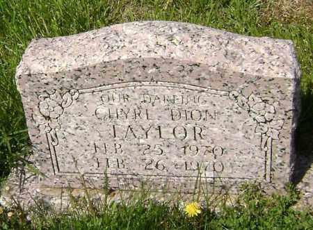 TAYLOR, CHYRL DION - Lawrence County, Arkansas | CHYRL DION TAYLOR - Arkansas Gravestone Photos