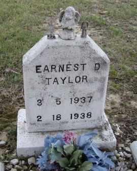 TAYLOR, EARNEST D. - Lawrence County, Arkansas   EARNEST D. TAYLOR - Arkansas Gravestone Photos