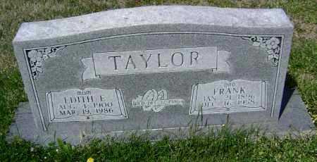 TAYLOR, EDITH E. - Lawrence County, Arkansas   EDITH E. TAYLOR - Arkansas Gravestone Photos