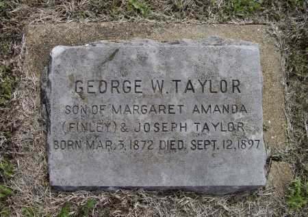 TAYLOR, GEORGE W. - Lawrence County, Arkansas | GEORGE W. TAYLOR - Arkansas Gravestone Photos