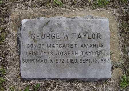 TAYLOR, GEORGE W. - Lawrence County, Arkansas | GEORGE W. TAYLOR - Arkansas Gravestone Photos