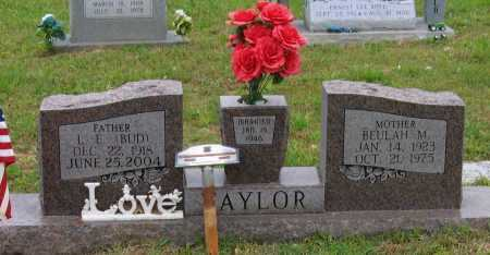 "TAYLOR (VETERAN WWII), LAWRENCE EDWARD ""BUD"" - Lawrence County, Arkansas 