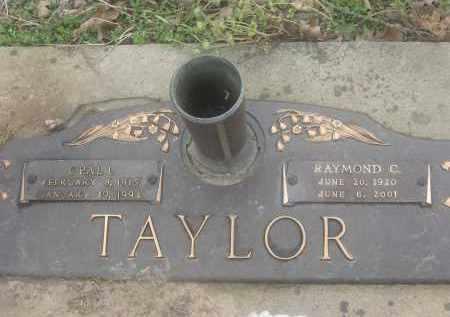 TAYLOR (VETERAN WWII), RAYMOND C  - Lawrence County, Arkansas | RAYMOND C  TAYLOR (VETERAN WWII) - Arkansas Gravestone Photos