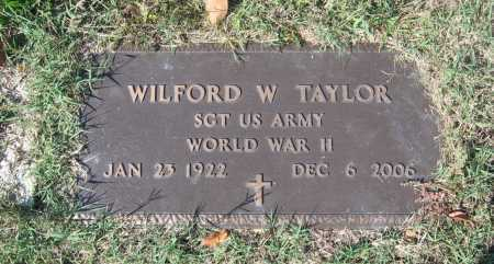 TAYLOR (VETERAN WWII), WILFORD WASSON - Lawrence County, Arkansas | WILFORD WASSON TAYLOR (VETERAN WWII) - Arkansas Gravestone Photos