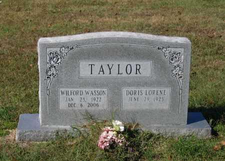 TAYLOR, WILFORD WASSON - Lawrence County, Arkansas | WILFORD WASSON TAYLOR - Arkansas Gravestone Photos