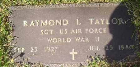 TAYLOR (VETERAN WWII), RAYMOND L. - Lawrence County, Arkansas | RAYMOND L. TAYLOR (VETERAN WWII) - Arkansas Gravestone Photos