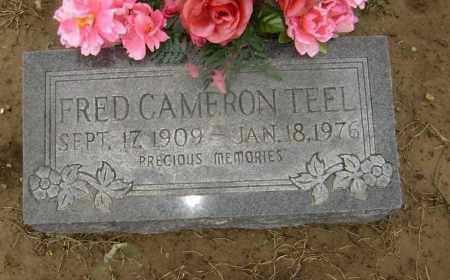 TEEL, FRED CAMERON - Lawrence County, Arkansas | FRED CAMERON TEEL - Arkansas Gravestone Photos