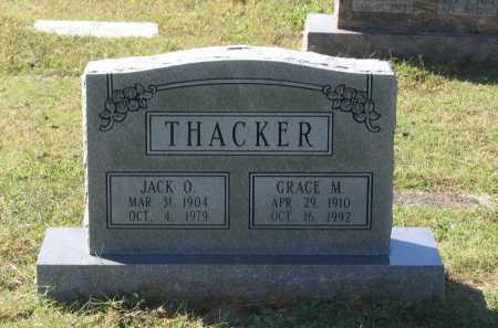 THACKER, JACK OREN - Lawrence County, Arkansas | JACK OREN THACKER - Arkansas Gravestone Photos