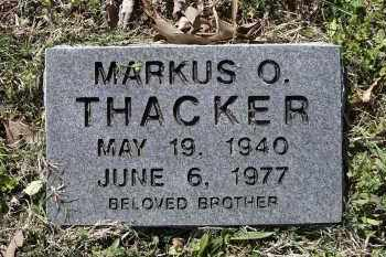 THACKER, MARKUS OREN - Lawrence County, Arkansas | MARKUS OREN THACKER - Arkansas Gravestone Photos