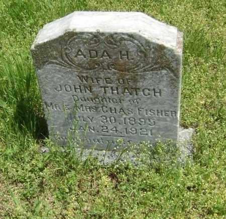 THATCH, ADA H. - Lawrence County, Arkansas | ADA H. THATCH - Arkansas Gravestone Photos