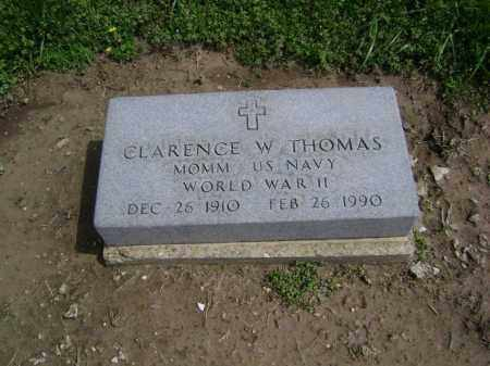 THOMAS  (VETERAN WWII), CLARENCE W. - Lawrence County, Arkansas | CLARENCE W. THOMAS  (VETERAN WWII) - Arkansas Gravestone Photos