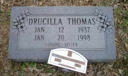 THOMAS, DRUCILLA - Lawrence County, Arkansas   DRUCILLA THOMAS - Arkansas Gravestone Photos