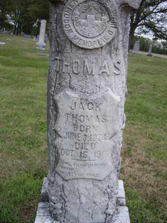 THOMAS, JACK - Lawrence County, Arkansas   JACK THOMAS - Arkansas Gravestone Photos