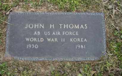 THOMAS (VETERAN 2 WARS), JOHN H. - Lawrence County, Arkansas | JOHN H. THOMAS (VETERAN 2 WARS) - Arkansas Gravestone Photos