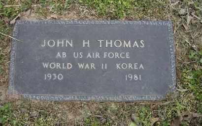 THOMAS (VETERAN 2 WARS), JOHN H. - Lawrence County, Arkansas   JOHN H. THOMAS (VETERAN 2 WARS) - Arkansas Gravestone Photos
