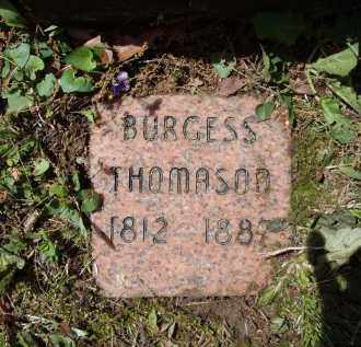 THOMASON, BURGESS - Lawrence County, Arkansas   BURGESS THOMASON - Arkansas Gravestone Photos