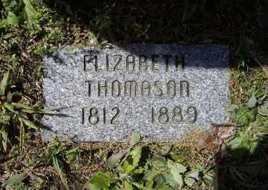 THOMASON, ELIZABETH - Lawrence County, Arkansas   ELIZABETH THOMASON - Arkansas Gravestone Photos