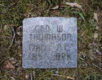 THOMASON, GEORGE W. - Lawrence County, Arkansas | GEORGE W. THOMASON - Arkansas Gravestone Photos