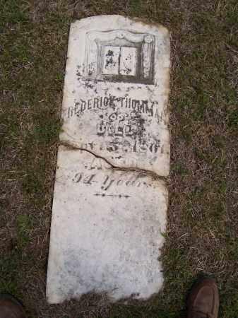 THOMMAN, FREDERICK - Lawrence County, Arkansas | FREDERICK THOMMAN - Arkansas Gravestone Photos