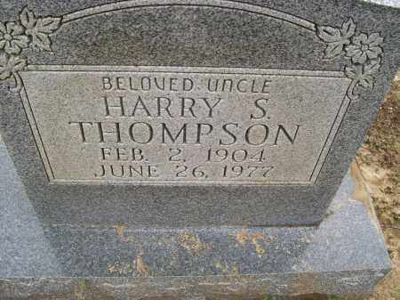 THOMPSON, HARRY S. - Lawrence County, Arkansas | HARRY S. THOMPSON - Arkansas Gravestone Photos
