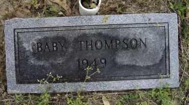 THOMPSON, INFANT - Lawrence County, Arkansas | INFANT THOMPSON - Arkansas Gravestone Photos