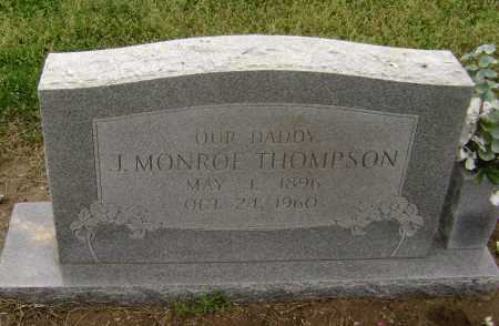 THOMPSON, J. MONROE - Lawrence County, Arkansas | J. MONROE THOMPSON - Arkansas Gravestone Photos
