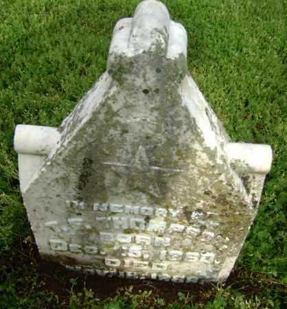 THOMPSON, T. F. - Lawrence County, Arkansas | T. F. THOMPSON - Arkansas Gravestone Photos