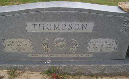 THOMPSON, WILLIAM J. - Lawrence County, Arkansas | WILLIAM J. THOMPSON - Arkansas Gravestone Photos