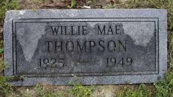 THOMPSON, WILLIE MAE - Lawrence County, Arkansas | WILLIE MAE THOMPSON - Arkansas Gravestone Photos