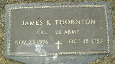 THORNTON  (VETERAN), JAMES K. - Lawrence County, Arkansas | JAMES K. THORNTON  (VETERAN) - Arkansas Gravestone Photos