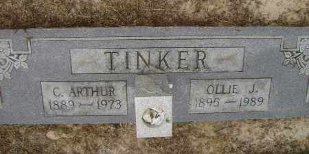 TINKER, CLARENCE  ARTHUR - Lawrence County, Arkansas | CLARENCE  ARTHUR TINKER - Arkansas Gravestone Photos