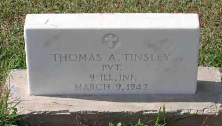 TINSLEY (VETERAN SAW), THOMAS ALLEN - Lawrence County, Arkansas   THOMAS ALLEN TINSLEY (VETERAN SAW) - Arkansas Gravestone Photos