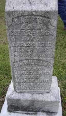 WILLIAMS, J. A. - Lawrence County, Arkansas | J. A. WILLIAMS - Arkansas Gravestone Photos