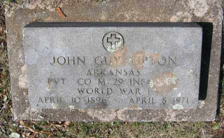 TIPTON (VETERAN WWI), JOHN GUY - Lawrence County, Arkansas | JOHN GUY TIPTON (VETERAN WWI) - Arkansas Gravestone Photos