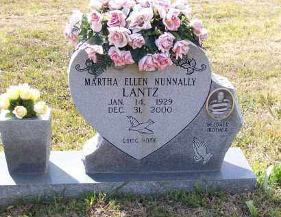 LANTZ, MARTHA ELLEN NUNNALLY TODD - Lawrence County, Arkansas | MARTHA ELLEN NUNNALLY TODD LANTZ - Arkansas Gravestone Photos