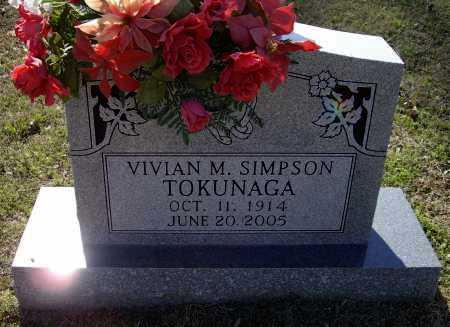 SIMPSON TOKUNAGA, VIVIAN M. - Lawrence County, Arkansas | VIVIAN M. SIMPSON TOKUNAGA - Arkansas Gravestone Photos