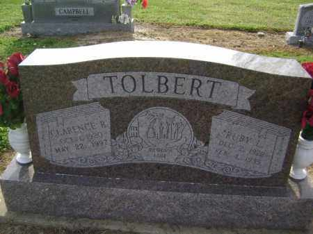 TOLBERT, RUBY LUCILLE - Lawrence County, Arkansas | RUBY LUCILLE TOLBERT - Arkansas Gravestone Photos