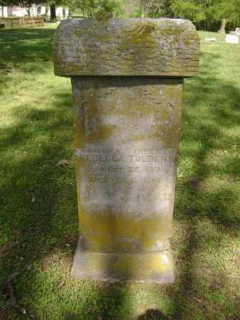 TOLBERT, REBECCA - Lawrence County, Arkansas   REBECCA TOLBERT - Arkansas Gravestone Photos