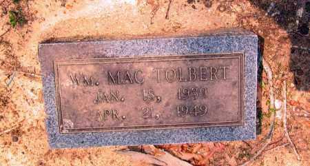 TOLBERT, WILLIAM MAC - Lawrence County, Arkansas | WILLIAM MAC TOLBERT - Arkansas Gravestone Photos