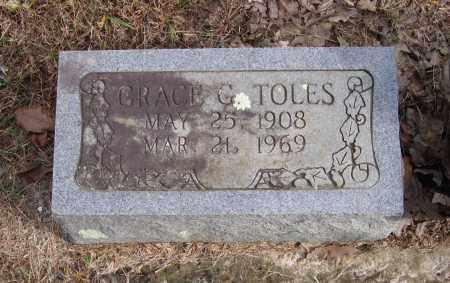 TOLES, GRACE G. - Lawrence County, Arkansas | GRACE G. TOLES - Arkansas Gravestone Photos