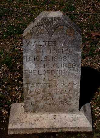 TOLES, WALTER - Lawrence County, Arkansas   WALTER TOLES - Arkansas Gravestone Photos