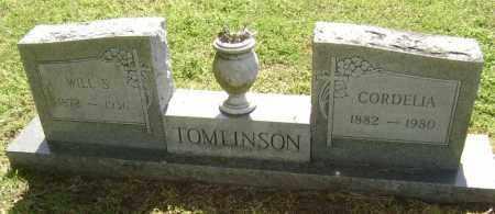 TOMLINSON, WILL S. - Lawrence County, Arkansas | WILL S. TOMLINSON - Arkansas Gravestone Photos