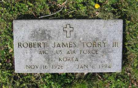 TORRY III (VETERAN KOR), ROBERT JAMES - Lawrence County, Arkansas | ROBERT JAMES TORRY III (VETERAN KOR) - Arkansas Gravestone Photos