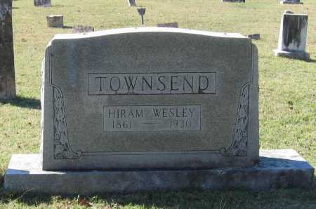 TOWNSEND, HIRAM WESLEY - Lawrence County, Arkansas   HIRAM WESLEY TOWNSEND - Arkansas Gravestone Photos