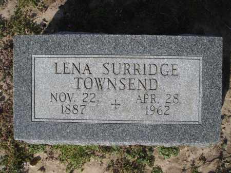 TOWNSEND, LENA W - Lawrence County, Arkansas   LENA W TOWNSEND - Arkansas Gravestone Photos