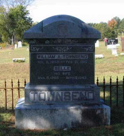 TOLER TOWNSEND, IDA BELLE - Lawrence County, Arkansas | IDA BELLE TOLER TOWNSEND - Arkansas Gravestone Photos