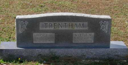 TRENTHAM, HOSEA DANIEL - Lawrence County, Arkansas | HOSEA DANIEL TRENTHAM - Arkansas Gravestone Photos